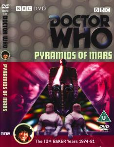 Region 2 DVD Cover for Pyramids of Mars