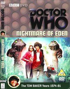 Region 2 DVD cover for Nightmare of Eden
