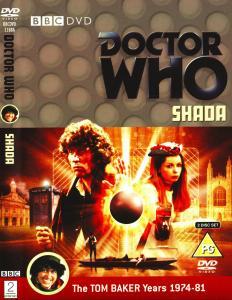 Region 2 DVD cover for Shada