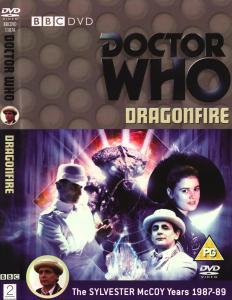 Region 2 DVD cover for Dragonfire