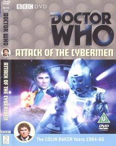 Attack of the Cybermen Region 2 DVD Cover
