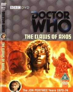 The Claws of Axos Region 2 DVD Cover
