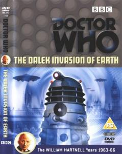 The Dalek Invasion of Earth Region 2 DVD Cover