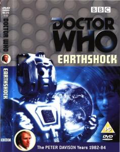 Earthshock Region 2 DVD Cover