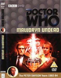 Mawdryn Undead Region 2 DVD Cover