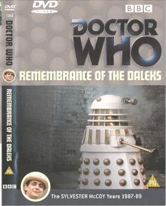 Remembrance of the Daleks Region 2 DVD Cover