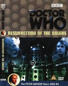 Resurrection of the Daleks Region 2 DVD Cover
