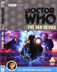 The Sea Devil Region 2 DVD Cover
