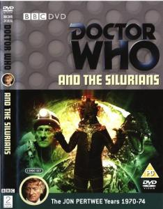 Doctor Who and the Silurians Region 2 DVD Cover