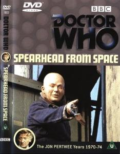 Spearhead from Space Region 2 DVD Cover