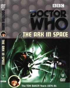 The Ark in Space Region 2 DVD Cover