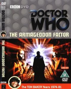 The Armageddon Factor Region 2 DVD Cover
