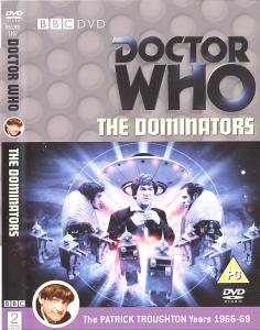 The Dominators Region 2 DVD Cover