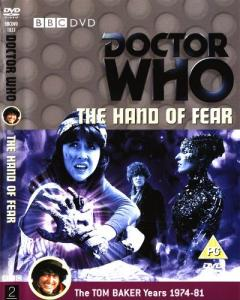 The Hand of Fear Region 2 DVD Cover