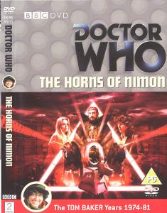 The Horns of Nimon Region 2 DVD Cover