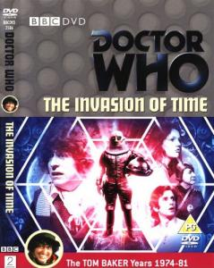 The Invasion of Time Region 2 DVD Cover