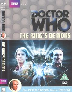The King's Demons Region 2 DVD Cover