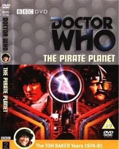 The Pirate Planet Region 2 DVD Cover