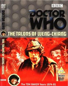 The Talons of Weng-Chiang Region 2 DVD Cover