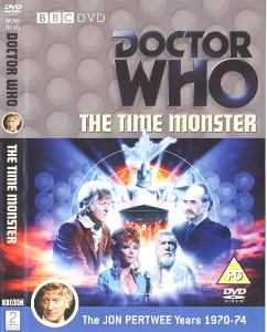 The Time Monster Region 2 DVD Cover