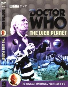 The Web Planet Region 2 DVD Cover