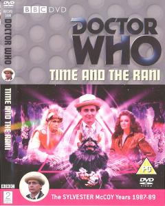 Time and the Rani Region 2 DVD Cover
