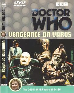 Vengeance on Varos Region 2 DVD Cover