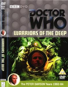 Warriors of the Deep Region 2 DVD Cover