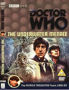 Region 2 DVD cover for The Underwater Menace