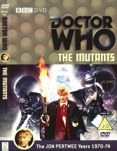 Region 2 DVD cover for The Mutants