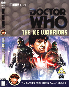 Region 2 DVD cover for The Ice Warriors