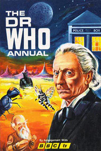 1996 Doctor Who Annual cover