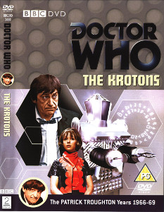 Region 2 DVD cover for The Krotons