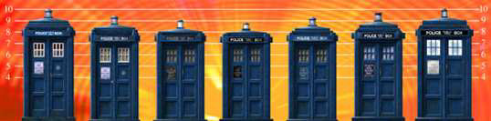 Chameleonic Fluctuations of the Doctor's TARDIS