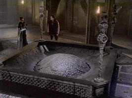 The copy of the Eye of Harmony in a TARDIS