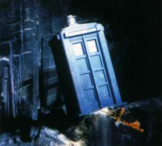 A TARDIS saved by the safety precaution system