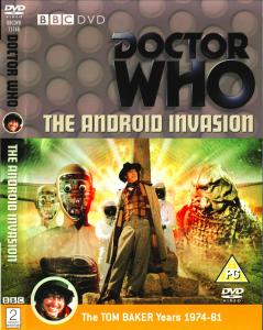 Region 2 DVD cover for The Android Invasion
