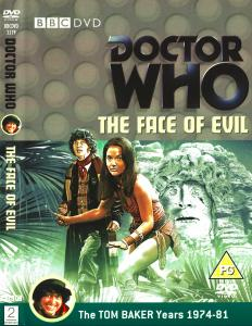 Region 2 DVD cover for The Face of Evil