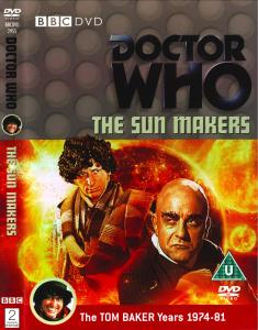 Region 2 DVD cover for The Sun Makers