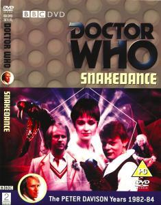 Region 2 DVD cover for Snakedance