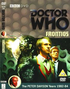 Region 2 DVD cover for Frontios