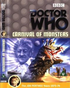 Carnival of Monsters Region 2 DVD Cover