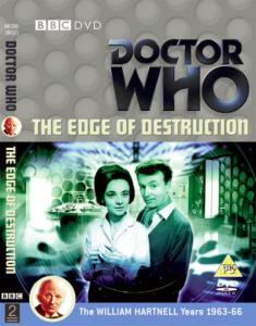 The Edge of Destruction Region 2 DVD Cover