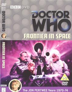 Frontier in Space Region 2 DVD Cover