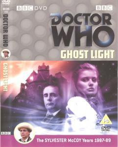 Ghost Light Region 2 DVD Cover