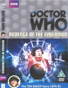 Revenge of the Cybermen Region 2 DVD Cover