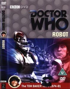Robot Region 2 DVD Cover