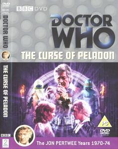 The Curse of Peladon Region 2 DVD Cover