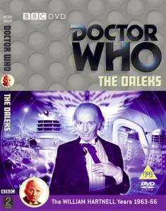 The Daleks Region 2 DVD Cover