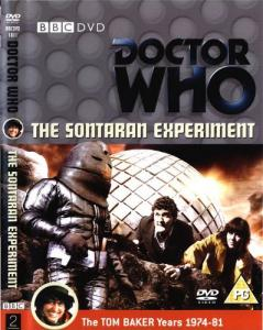 The Sontaran Experiment Region 2 DVD Cover